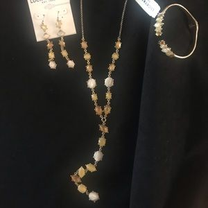 """Lucky Brand """"Y"""" Necklace Set"""